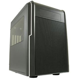 LC-Power Gaming 977MB Big Block mit Sichtfenster Wuerfel ohne Netzteil schwarz