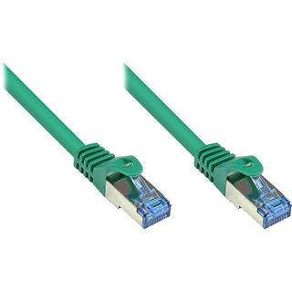 (€0,72*/1m) 40.00m Good Connections Cat. 6a Patchkabel S/FTP PiMF RJ45 Stecker auf RJ45 Stecker Grün halogenfrei/Rastnasenschutz