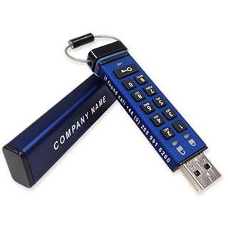 8 GB iStorage datAshur Pro blau USB 3.0