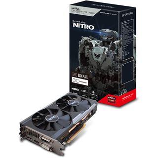 4096MB Sapphire Radeon R9 380X Nitro inkl. Backplate Aktiv PCIe 3.0 x16 (Lite Retail)