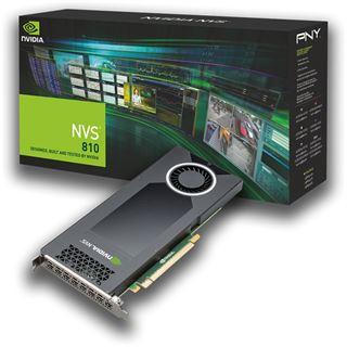 4096MB PNY Quadro NVS 810 DVI Aktiv PCIe 3.0 x16 (Retail)