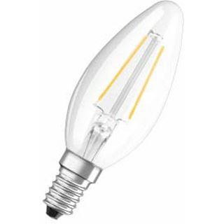 Osram LED RF Classic B 37 4W/827 FIL Klar E14 A++