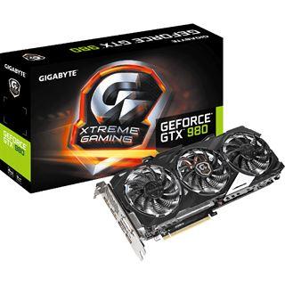 4GB Gigabyte GeForce GTX 980 Xtreme Aktiv PCIe 3.0 x16 (Retail)