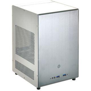 Lian Li PC-Q04A Mini-ITX ohne Netzteil silber