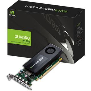 4096MB PNY Quadro K1200 DP Aktiv PCIe 2.0 x16 (Retail)
