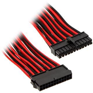 Phanteks 24 Pin ATX Verlängerung 50cm sleeved schwarz/rot
