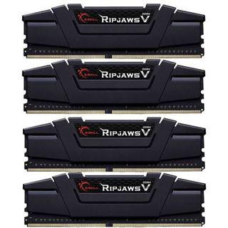 64GB (4x 16384MB) G.Skill RipJaws V schwarz DDR4-2800 CL14 - 14 - 14 - 35