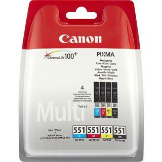Canon CLI-551 C/M/Y/BK Photo Value Multi-Pack