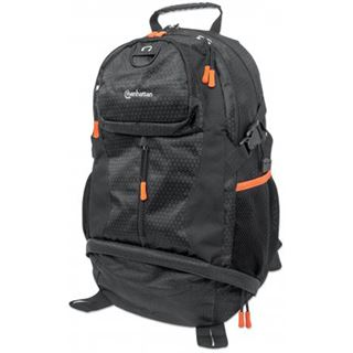 "Manhattan Notebook Rucksack Trekpack bis 17"" schwarz/orange"