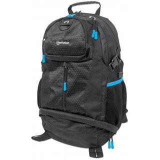 """Manhattan Notebook Rucksack Trekpack bis 17"""" schwarz/blau"""