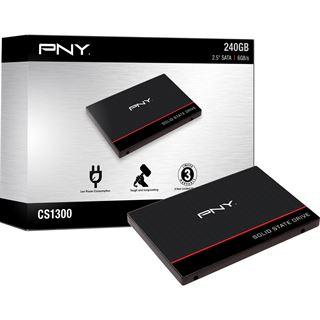 """240GB PNY CS1311 2.5"""" (6.4cm) SATA 6Gb/s TLC Toggle (SSD7CS1311-240-RB)"""