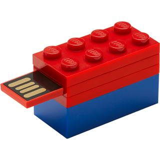 32 GB PNY LEGO blau/rot USB 2.0