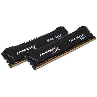 16GB HyperX Savage Rev. 2.0 DDR4-3000 DIMM CL15 Dual Kit