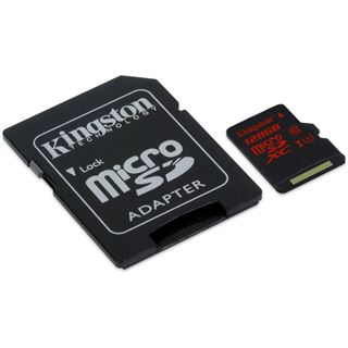 128 GB Kingston SDCA3 SDXC Class 10 U3 Retail inkl. Adapter