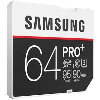 64 GB Samsung Pro Plus SDXC Class 10 U3 Retail