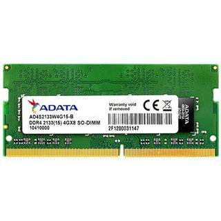 4GB ADATA AD4S2133W4G15 DDR4-2133 SO-DIMM CL15 Single