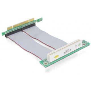 Delock Riser Card PCI 32bit auf PCI 32bit links +13cm Kabel