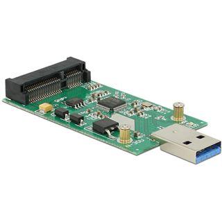 Delock USB 3.0 A Stecker auf mSATA