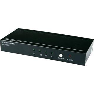 Innovation IT HDMI Splitter 1x IN - 4x OUT 4K inkl. Fernbedienung I.IT