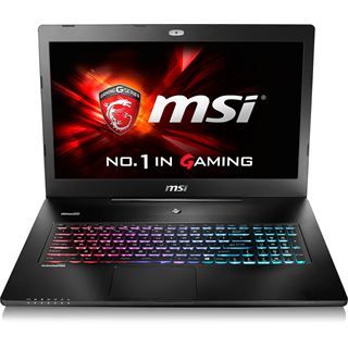 "Notebook 17.3"" (43,94cm) MSI GS72 6QE Stealth Pro - GS72-6QE16H21"