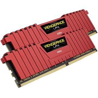 16GB Corsair Vengeance LPX rot DDR4-3000 DIMM CL15 Dual Kit
