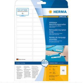 Herma Ablösbare Streifen A4 1200 St