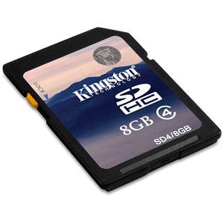 8 GB Kingston SD4/8GBCP SDHC Class 4 Bulk