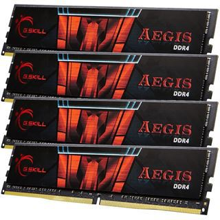 16GB G.Skill Aegis DDR4-2133 DIMM CL15 Quad Kit