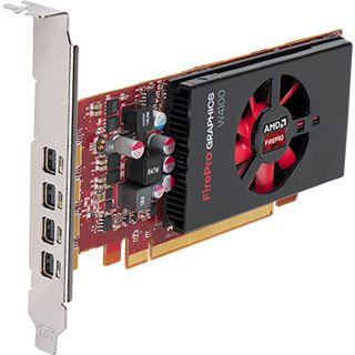 2048MB AMD FirePro W4100 Aktiv PCIe 3.0 x16 (Retail)