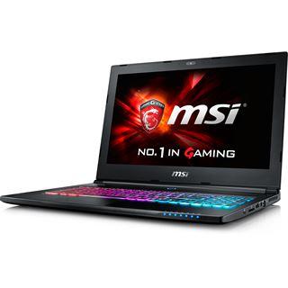 """Notebook 15.6"""" (39,62cm) MSI GS60-6QC8H21"""
