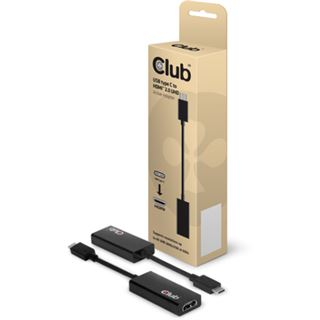 Club3D Adapter USB 3.1 Typ C zu HDMI 2.0 3D aktiv retail