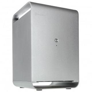 Silverstone Case Storage CS01 Mini-ITX ohne Netzteil silber