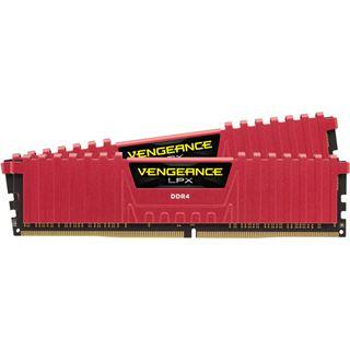 32GB Corsair Vengeance LPX rot DDR4-3000 DIMM CL15 Dual Kit