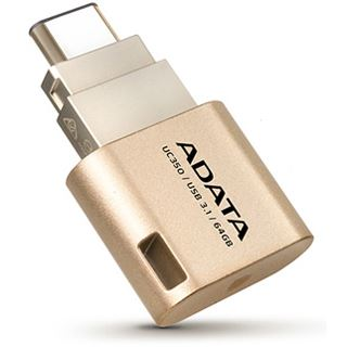 64 GB ADATA UC350 gold USB 3.1