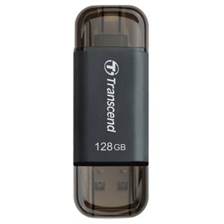 128 GB Transcend JetDrive Go 300 schwarz USB 3.1 und Lightning