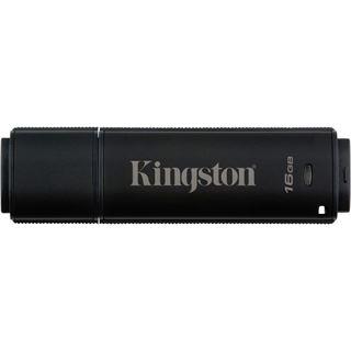 16 GB Kingston DataTraveler 4000 G2 schwarz USB 3.0