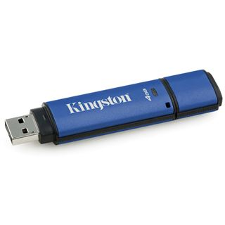 4 GB Kingston DataTraveler Vault Privacy 3.0 blau USB 3.1