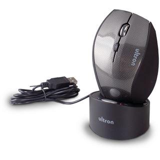 Ultron Maus USB grau (kabellos)