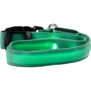 Ultron LED save-E LED Hundehalsband grün