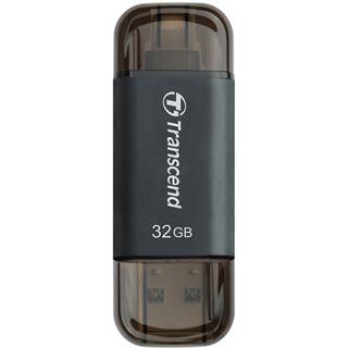 32 GB Transcend JetDrive Go 300 schwarz USB 3.1 und Lightning