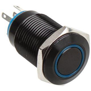 DimasTech Vandalismusschalter/-taster 16mm - Blackline - blau