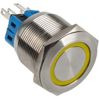 DimasTech Vandalismusschalter/-taster 25mm - Silverline - gelb
