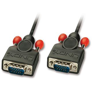 (€4,30*/1m) 3.00m Lindy VGA Anschlusskabel VGA 15pol Stecker auf VGA 15pol Stecker Schwarz doppelt geschirmt