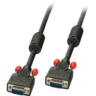 (€3,19*/1m) 15.00m Lindy VGA Anschlusskabel VGA 15pol Stecker auf VGA 15pol Stecker Schwarz doppelt geschirmt