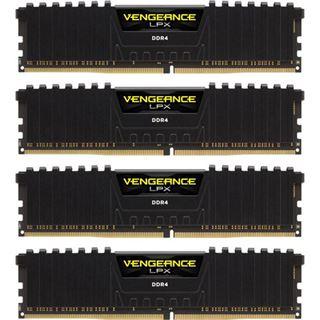 16GB Corsair Vengeance LPX schwarz DDR4-3733 DIMM CL17 Quad Kit