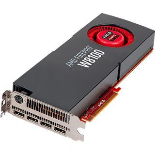 8192MB AMD FirePro W8100 Aktiv PCIe 3.0 x16 (Retail)