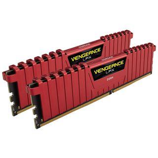 16GB Corsair Vengeance LPX rot DDR4-3733 DIMM CL17 Dual Kit