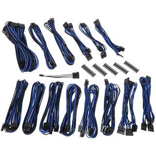 BitFenix Alchemy 2.0 PSU Cable Kit, CMR-Series - schwarz/blau