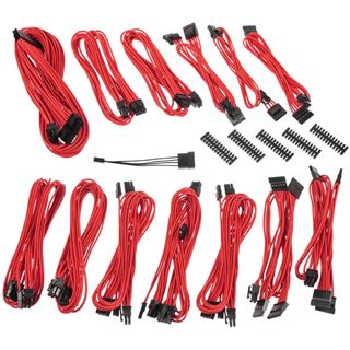BitFenix Alchemy 2.0 PSU Cable Kit, SSC-Series - rot