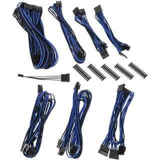 BitFenix Alchemy 2.0 PSU Cable Kit, BQT-Series SP10 - schwarz/blau
